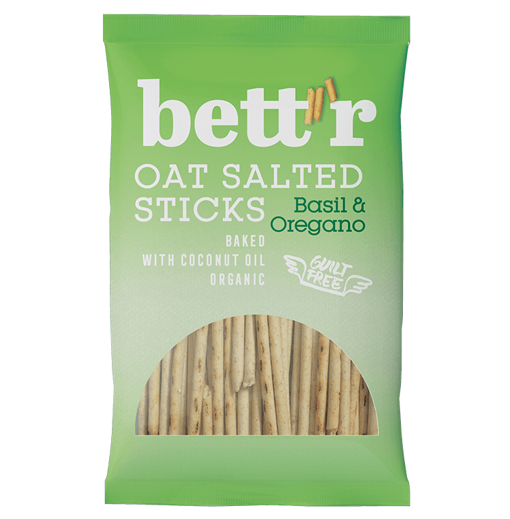 Oat Salted Sticks Basil & Oregano