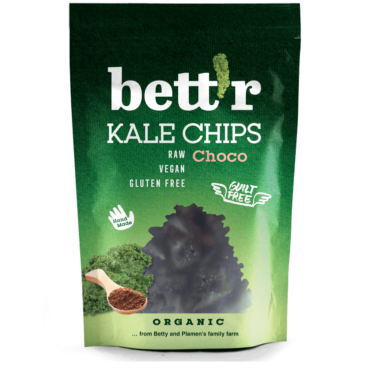 Kale Chips Choco