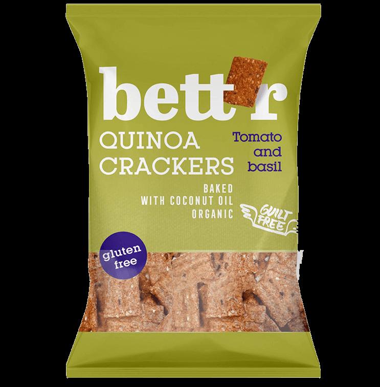 Quinoa Crackers Tomato & Basil