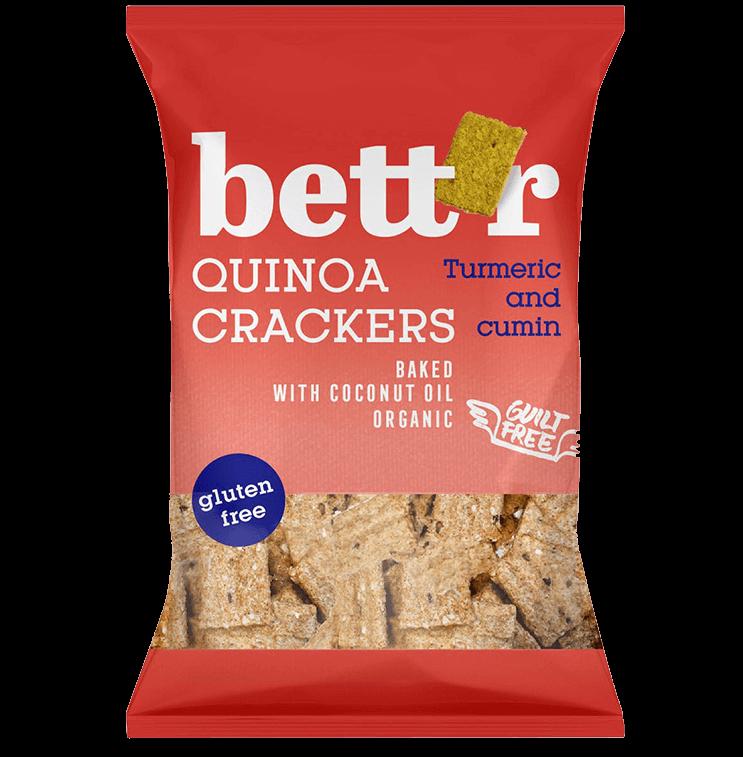 Quinoa Crackers Turmeric & Cumin
